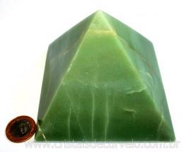 Pirâmide GRANDE Pedra Quartzo Verde Natural Queops cod PG2619