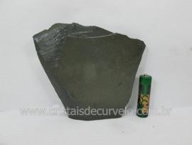 Ardosia Bruto Pedra Pra Colecionador ou Estudante de Minerais Geologia Cod 214.3