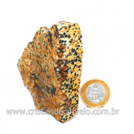 Jaspe Dalmata Pedra Natural Mineral de Esoterismo Cod123302