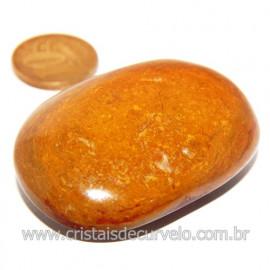 Sabonete Massageador Jaspe Amarelo Pedra Natural Cod 119747