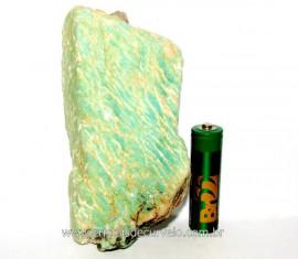 Amazonita Verde Pedra Bruto da Familia Feldspato Cod AV9917