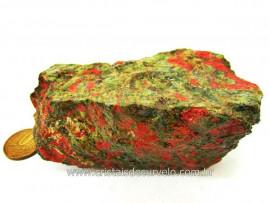 Unakita Pedra Natural De Garimpo Em Bruto Para Colecionador e Esoterismo Cod 287.6