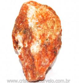 Calcita Laranja Mineral Bruto Natural Esoterismo Cod 111077