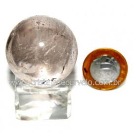 Esfera Quartzo Cristal Tok Fumê Extra Quartzo Fumado 119821