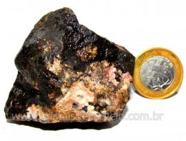 RODONITA ou Manganolita Pedra de Garimpo No Peru Cod RP9127