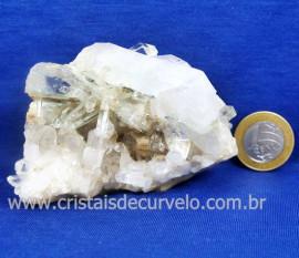 Drusa Cristal Extra Pedra Ideal Para Esoterismo Cod 127621