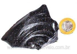 Pedra Estrela Pigmento Dourado Bruto Para Lapidar Cod PE8404