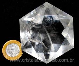 Estrela De Davi Ou Selo de Salomão Pedra Cristal cod ED5983