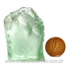 Obsidiana Verde Pedra Vulcanica Ideal P/ Coleçao Cod 119723