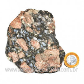 Riolita Rosa Rocha Vulcânica Pedra de Garimpo Bruto Cod 128050