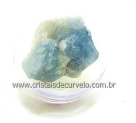 CALCITA Azul no Estojo Pedra Para Colecionador Importada do México Cod CL53.0