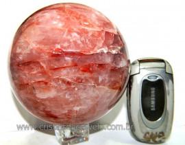 Esfera Hematoide Vermelho Pedra de Boa Qualidade Cod EH3030