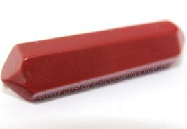 Bi Terminado Jaspe vermelho Pedra Extra Lapidado Tamanho Mini 2.5  Cm