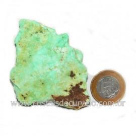 Crisoprasio Bruto Natural Pedra Familia da Calcedonia Cod 123175