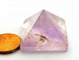 Piramide Tok Ametista Cristalizada Baseada Queops Cod PA1020