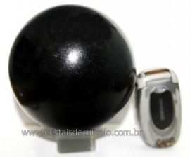 Esfera Pedra Quartzo Preto ou Quartzito Natural Cod BP7602