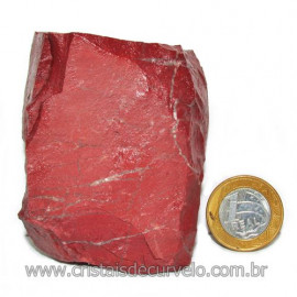 Dolomita Vermelha Pedra Natural Bruto de Garimpo Cod 116154