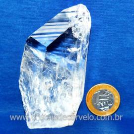 Lemuria Pequeno Quartzo Comum Cristal Lemuriano Natural Cod 119439