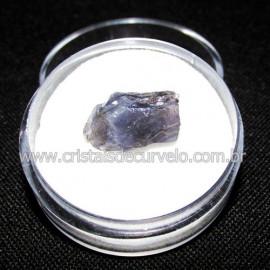 Safira D'Água Pedra Genuina P/ Coleçao no Estojo Cod 114727
