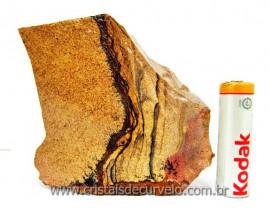 Jaspe Paisagem Pedra do Canada Mineral Bruto e Natural Cod 362.4