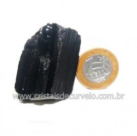 Turmalina Preta Pedra Extra Firme e Dura Natural Cod 119426