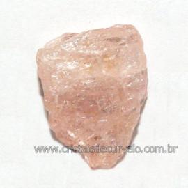 Morganita Pedra Natural Berilo Pessêgo ou Rosa Cod 113398