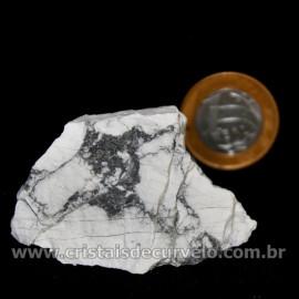 Howlita Pedra Natural P Colecionador e Esoterismo Cod 126797