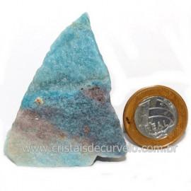 Quartzo Azul Paraíba pedra Rara Para Coleção Cod 118649