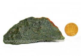 Basalto Verde Bruto Para Colecionador ou Estudante Cod BV7889