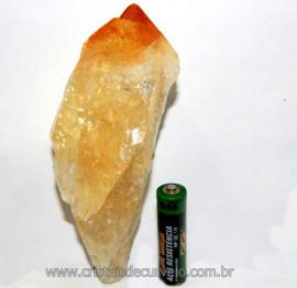 Citrino Terminado Pedra Bombardeado Mineral Bruto Cod CT7681