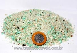 Amazonita Farelo em Pó Pedra pra Orgonite 100Gr Reff PA2846