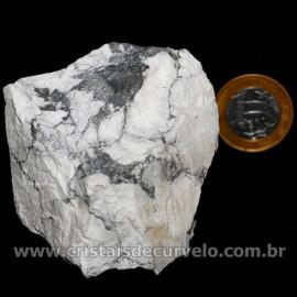 Howlita Pedra Natural P Colecionador e Esoterismo Cod 126800