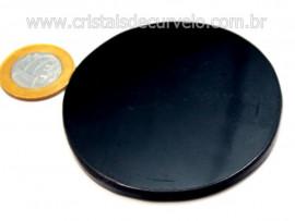 Espelho Obsidiana Negra Vulcanica Sem Base Cod OE9990