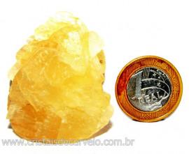 Calcita Mel Pedra Natural P/ Coleção e Esoterismo Cod 110313