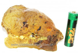Ambar Natural Brasileiro ou Copal Resina Fossilizado Rocha Organica Cod AC7185