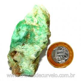 Crisoprasio Bruto Especial Pedra da Esperança Cod 119684