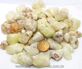 1kg de Enxofre Rolado Pedra Natural Tamanho Médio Reff 111510