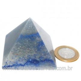 Piramide Pedra Quartzo Azul Medida Baseada Queops Cod 128418