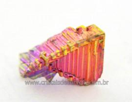 Bismuto Mineral ou Bismuth Stone Pedra Natural Cod BB7450