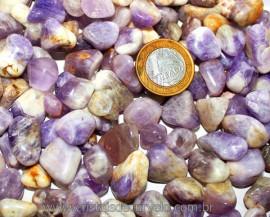 Chevron Rolado Pequeno Pct Com 1kg Pedra Natural Reff CR4710