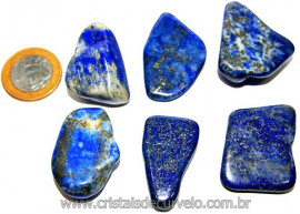 01 Lapis Lazuli ou Lazurita Natural Rolado Reff LL1958