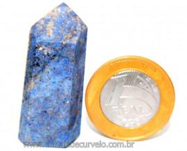 Ponta Dumortierita Pedra Natural Gerador Sextavado Cod PD4932