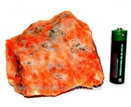 Calcita Laranja Mineral Bruto Natural Esoterismo Cod CL7734