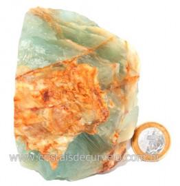 Onix Argentino ou Onix Azul Pedra Bruto Natural Cod 121506