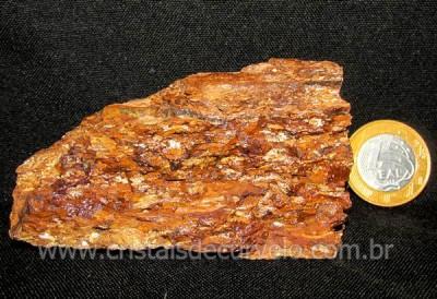 Bronzita Pedra Bruto Brilho Metalico Natural cod BB5659