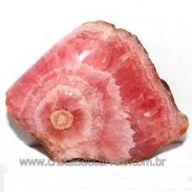 Chapa de Rodocrosita Argentina Extra Pedra Natural Cod 113844