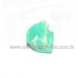 Crisoprasio Bruto Lasca No Estojo Mineral Natural Cod 118547
