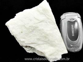 Feldspato Branco Pedra Garimpo MG Natural Para Coleção ou Lapidação Cod 507.8