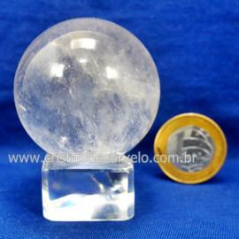 Bola Cristal Boa Qualidade Esfera Pedra Natural Cod 127553