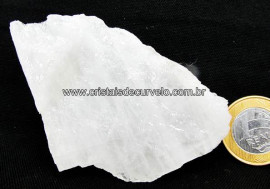 Quartzo Leitoso Pedra  Bruto Mineral Colecionador Esoterico ou Lapidar Cod 78.5